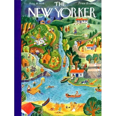 Puzzle  New-York-Puzzle-NY186 XXL Teile - Summer Vacation