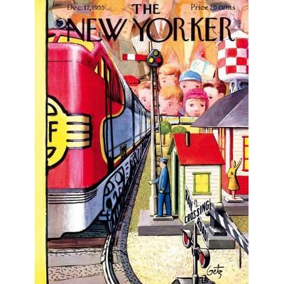 Puzzle  New-York-Puzzle-NY2055 XXL Teile - Model Train