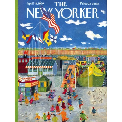 Puzzle  New-York-Puzzle-NY2057 Ferry Boat