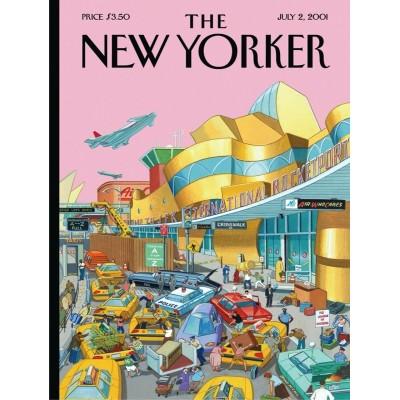 Puzzle  New-York-Puzzle-NY2068 J.F.K. International Rocketport