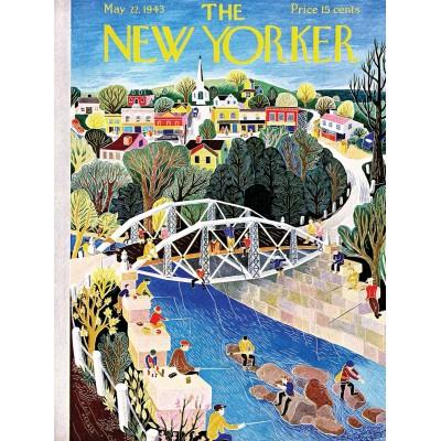 Puzzle  New-York-Puzzle-NY2143 Fishing Bridge