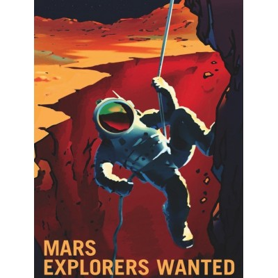 Puzzle  New-York-Puzzle-PD1710 XXL Teile - Explorers Wanted