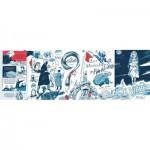 Puzzle  New-York-Puzzle-PG2177 Les Misérables