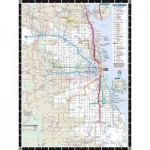 Puzzle  New-York-Puzzle-SW110 XXL Teile - Chicago Transit Map