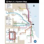Puzzle  New-York-Puzzle-SW111 Chicago Transit Map Mini