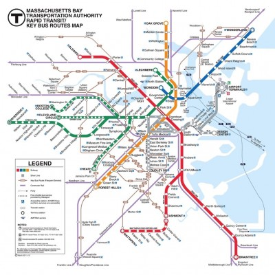Puzzle  New-York-Puzzle-SW121 XXL Teile - Boston Transit Boston T