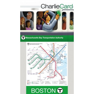 Puzzle  New-York-Puzzle-SW122 Boston T Map Mini