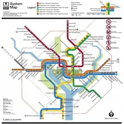 Puzzle  New-York-Puzzle-SW131 XXL Teile - Washington DC Subway