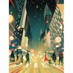 Puzzle  New-York-Puzzle-SW2011 Moonlight Moment