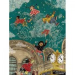 Puzzle  New-York-Puzzle-SW2012 XXL Teile - Transit Posters - Starbright