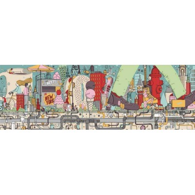 Puzzle  New-York-Puzzle-SW2103 Walking New York