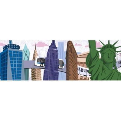 Puzzle  New-York-Puzzle-SW2104 XXL Teile - Travels Thru New York City