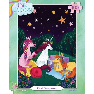 Puzzle  New-York-Puzzle-UN1940 XXL Teile - First Sleepover