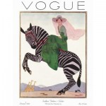 Puzzle  New-York-Puzzle-VG1963 XXL Teile - Lady on a Zebra
