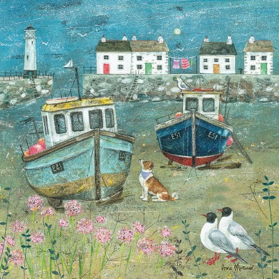 Puzzle  Otter-House-Puzzle-73336 Anne Mortimer - Harbour Beach