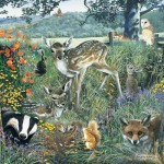 Puzzle  Otter-House-Puzzle-73568 Woodland Friends