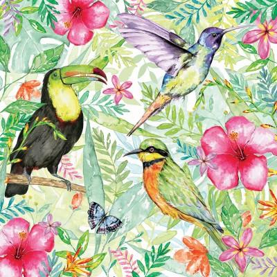 Puzzle  Otter-House-Puzzle-73575 Tropical Paradise
