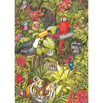 Puzzle  Otter-House-Puzzle-74128 Rainforests Of The World
