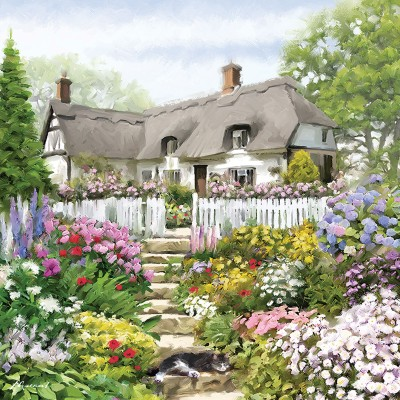Puzzle  Otter-House-Puzzle-74133 Country Cottage