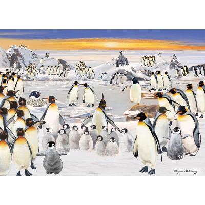 Puzzle  Otter-House-Puzzle-74135 Penguin Party