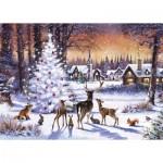 Puzzle  Otter-House-Puzzle-74740 Christmas Gathering