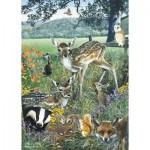 Puzzle  Otter-House-Puzzle-75836 Woodland Friends
