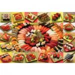 Puzzle  Cobble-Hill-50708 Sushi-Vielfalt