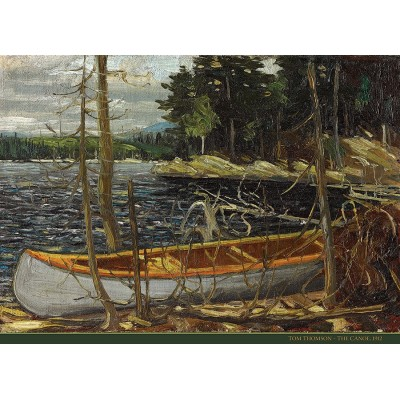 Puzzle  Cobble-Hill-51017 Tom Thomson: The Canoe