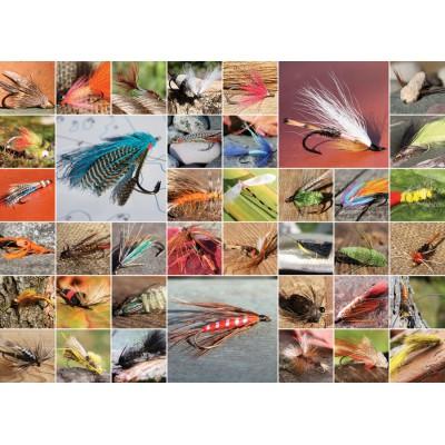 Puzzle  Cobble-Hill-51686 Fliegenfischen