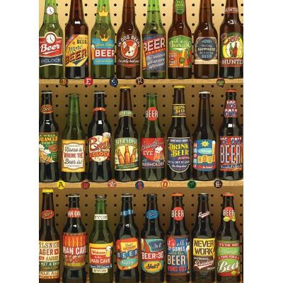 Puzzle Cobble-Hill-51773 Bierflaschen