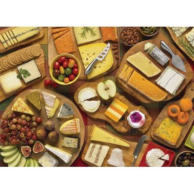 Puzzle  Cobble-Hill-51785 Alles Käse
