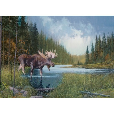 Puzzle  Cobble-Hill-51841 Moose Lake