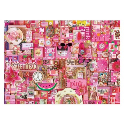 Puzzle Cobble-Hill-51860-57216 Shelley Davies: Pink