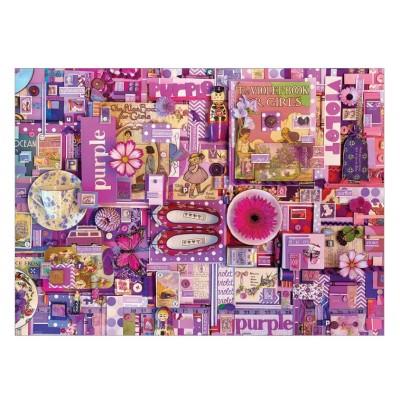 Puzzle Cobble-Hill-51866-80151 Shelley Davies: Purple
