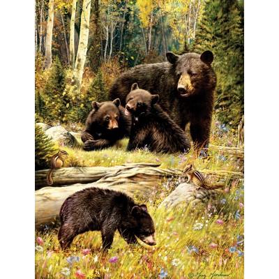 Puzzle Cobble-Hill-52102 XXL Teile - Greg Giordano - Bears