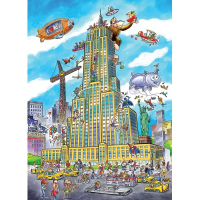 Puzzle Cobble-Hill-53501 DoodleTown: Empire State