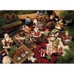 Puzzle  Cobble-Hill-54323 XXL Teile - Weihnachtsdekoration