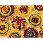 Puzzle  Cobble-Hill-54327 XXL Teile - Obsttörtchen
