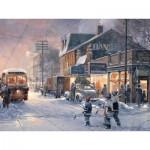 Puzzle  Cobble-Hill-54341 XXL Teile - Douglas Laird: Hockeynacht