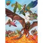 Puzzle  Cobble-Hill-54593 XXL Teile - Dragon Flight