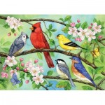 Puzzle  Cobble-Hill-54606 XXL Teile - Bloomin' Birds