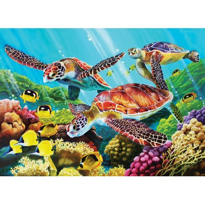 Puzzle  Cobble-Hill-54610 XXL Teile - Molokini Current