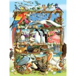 Puzzle  Cobble-Hill-54639 XXL Teile - Birds of the World