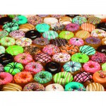 Puzzle  Cobble-Hill-57130 Donuts