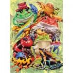 Puzzle  Cobble-Hill-57203 XXL Teile - Frog Pile
