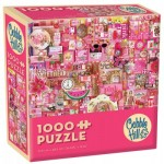 Puzzle  Cobble-Hill-57216 Pink