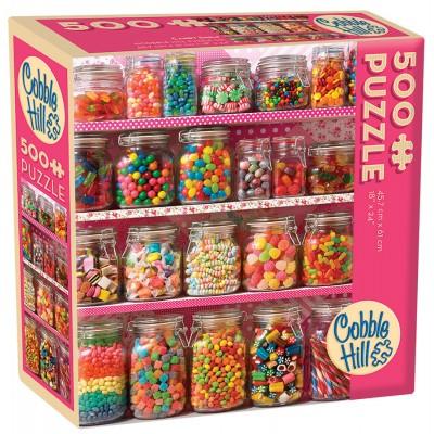 Puzzle Cobble-Hill-57219 XXL Teile - Candy Shelf