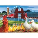 Puzzle  Cobble-Hill-58864 Dwight's Ducks