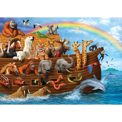 Puzzle  Cobble-Hill-58881 Voyage of the Ark