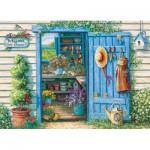 Puzzle  Cobble-Hill-70039 Janet Kruskamp: Willkommen im Garten